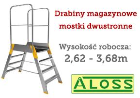 drabiny magazynowe ALOSS