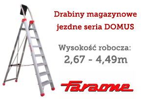 drabiny magazynowe DOMUS