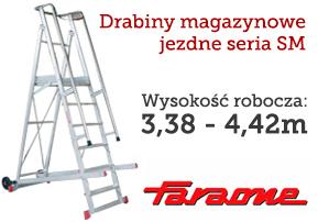 drabiny magazynowe FARAONE seria SM