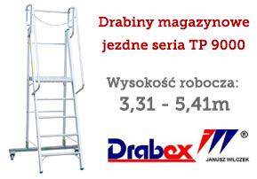 drabiny magazynowe DRABEX