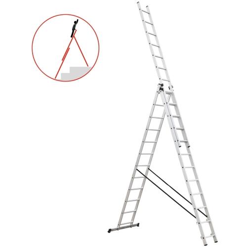 drabina 3x12 HIGHER 150kg 9,35m