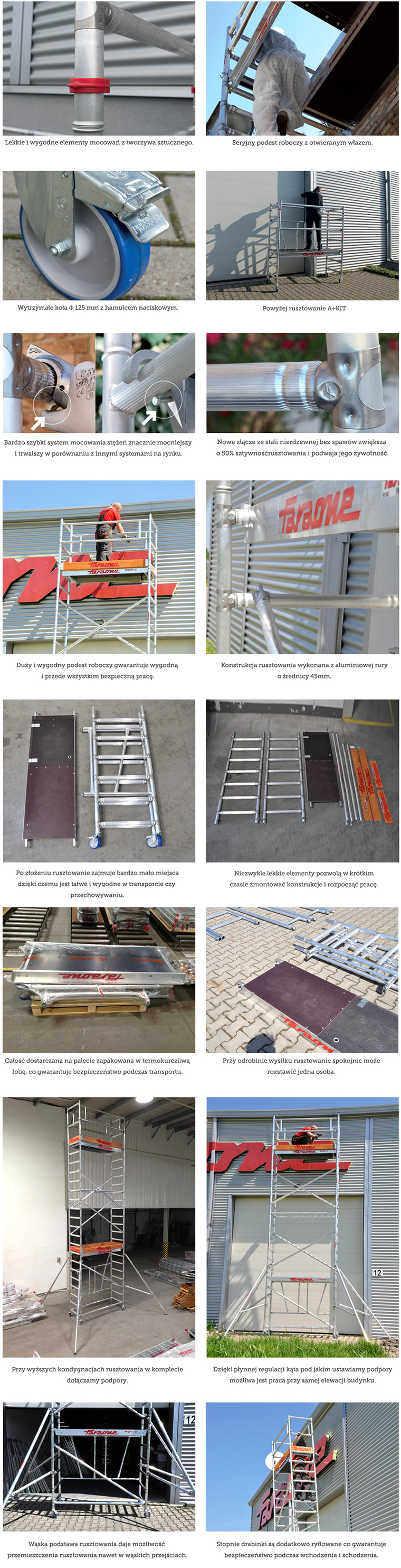 rusztowanie aluminiowe compact