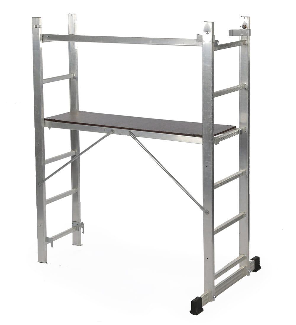 podest aluminiowy spawny HIGHER 2x6
