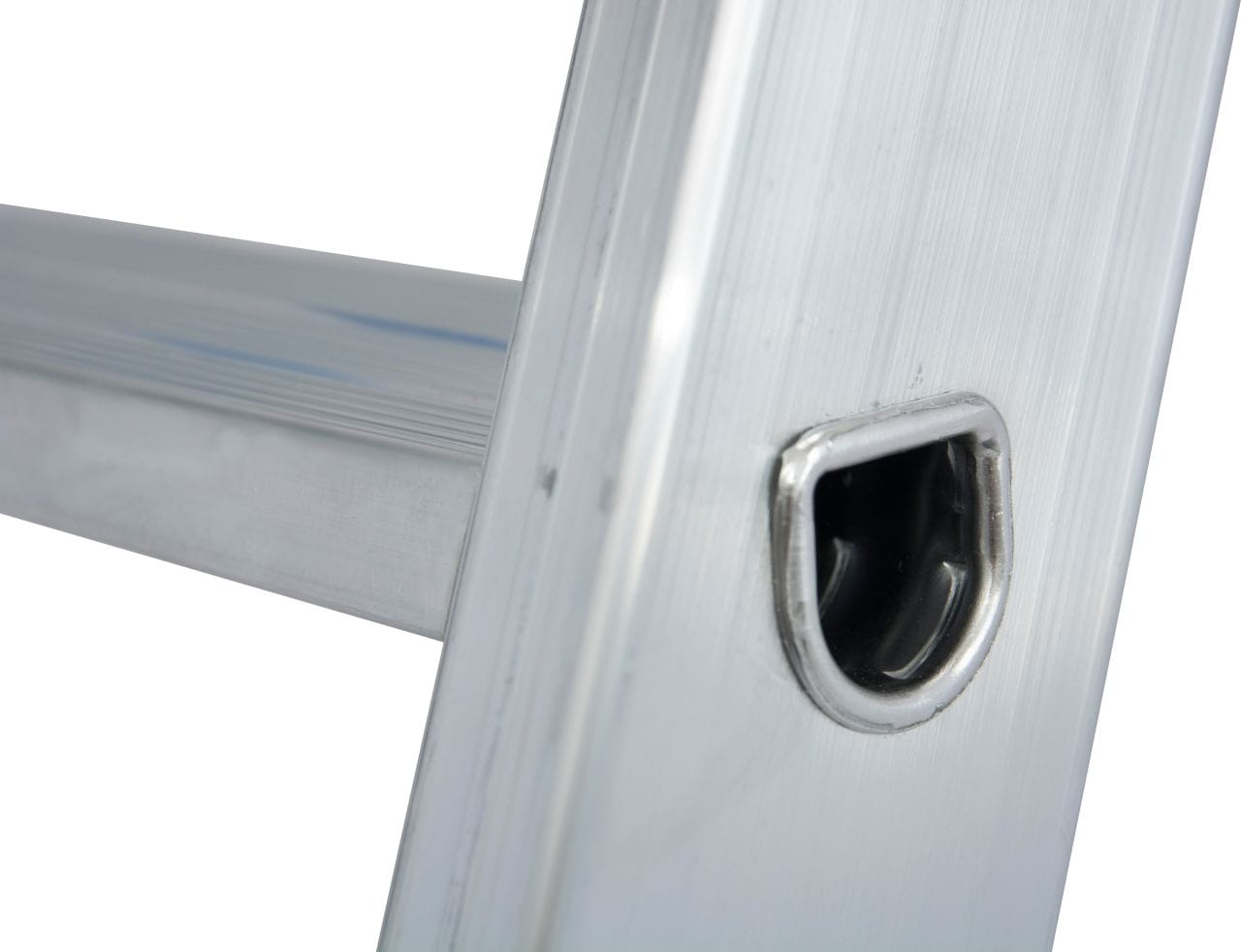 KRAUSE Stabilo drabina wolnostojąca 1x12 aluminiowa wpustowe łączenia