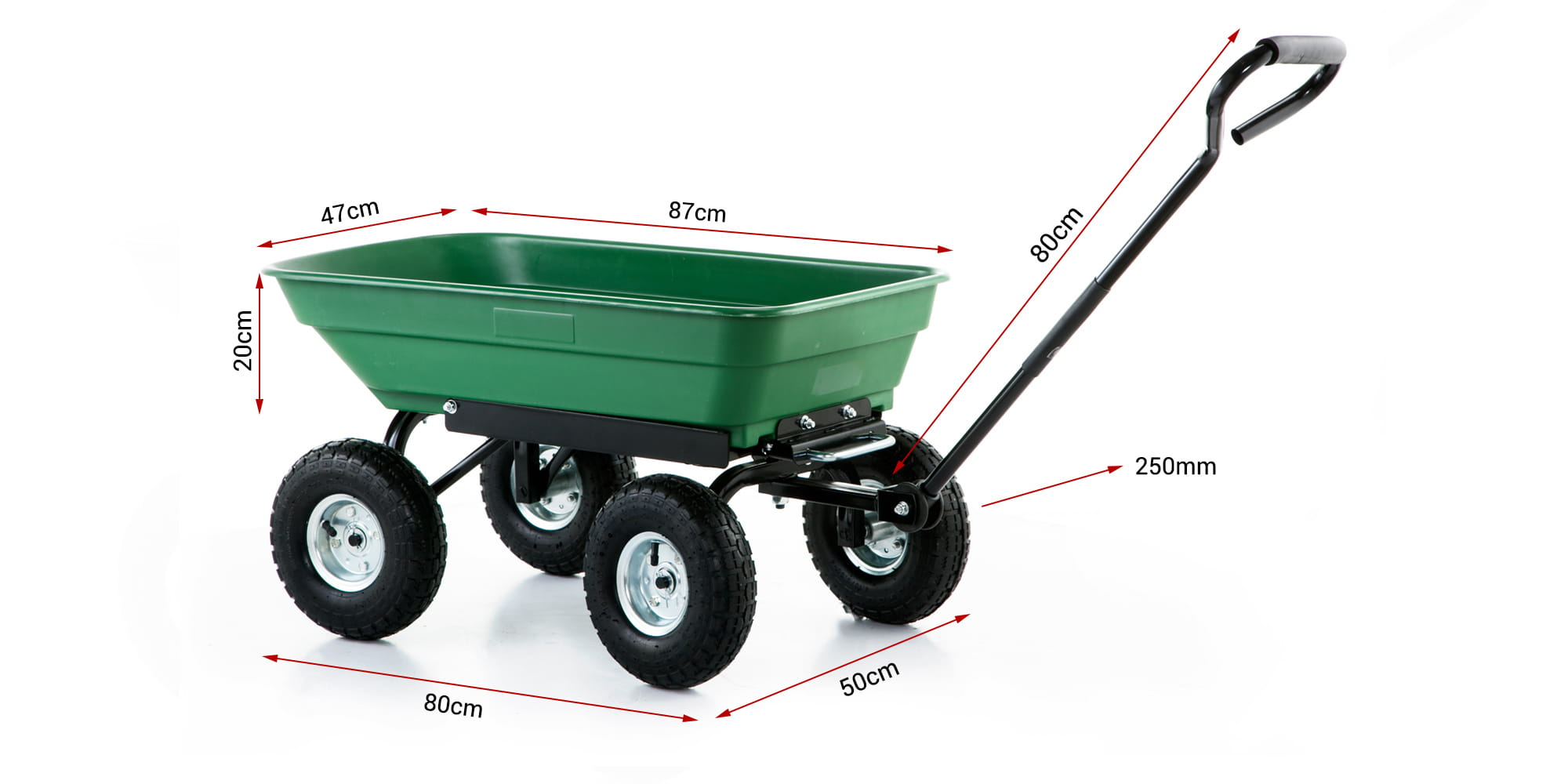 wózek ogrodowy higher 350kg
